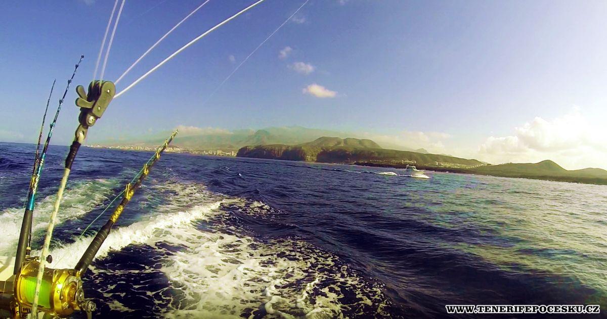 Sportovní rybaření Tenerife
