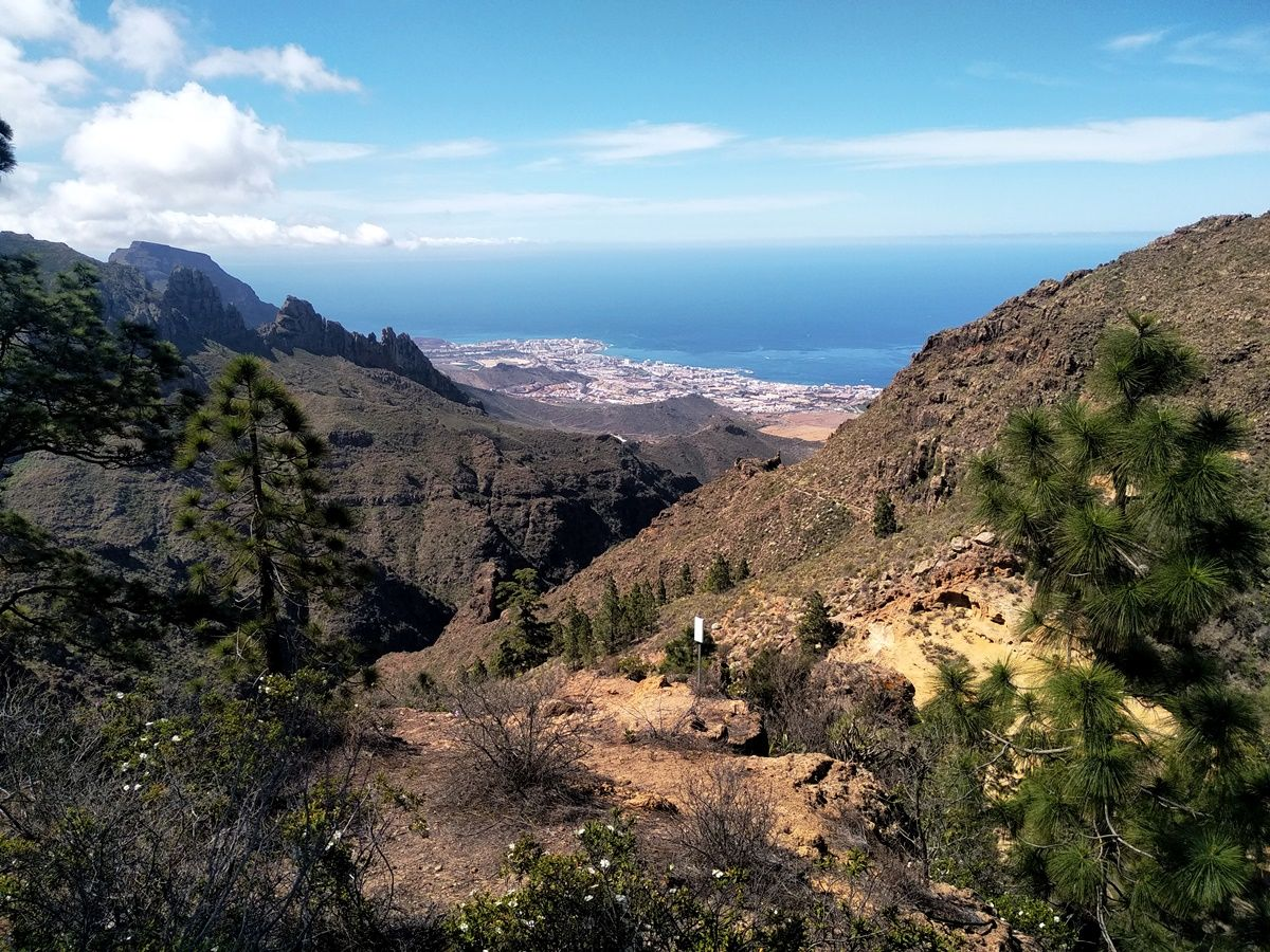 Výlet nádhernou přírodou s výhledy na barranco del Inferno