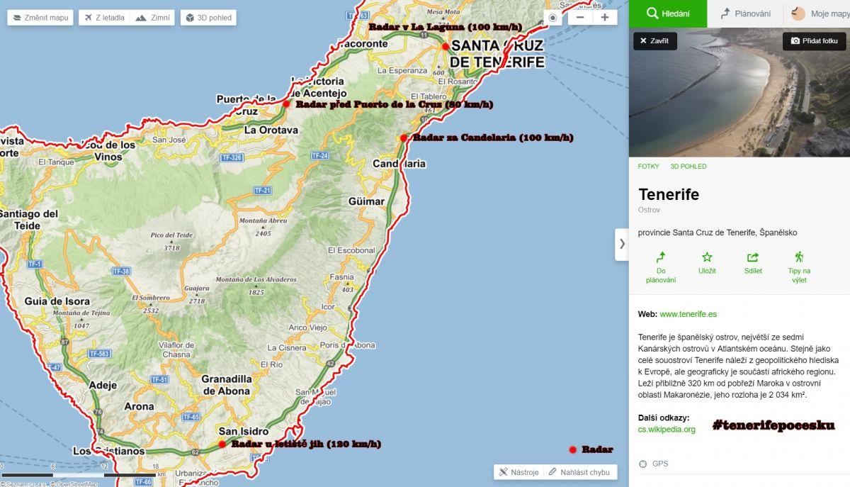 Půjčení auta Tenerife - autopůjčovna Costa Adeje