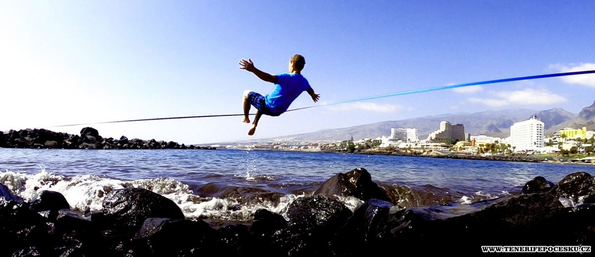 Slackline - Waterline