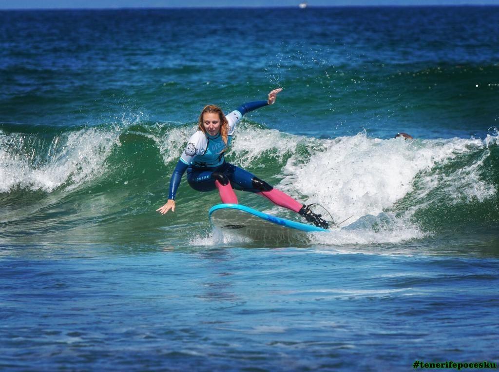 Škola surfování pro děti
