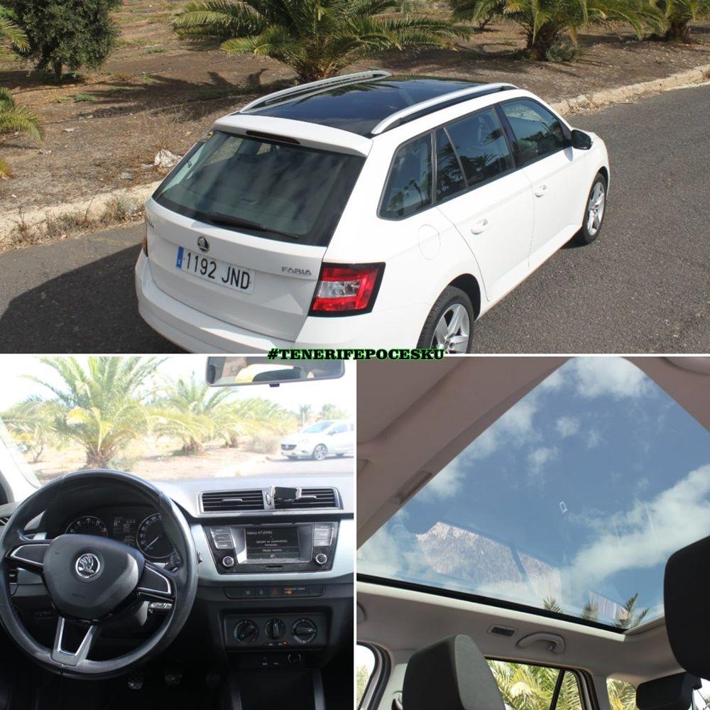 Půjčení auta Tenerife Škoda Fabia 1.2 TSI