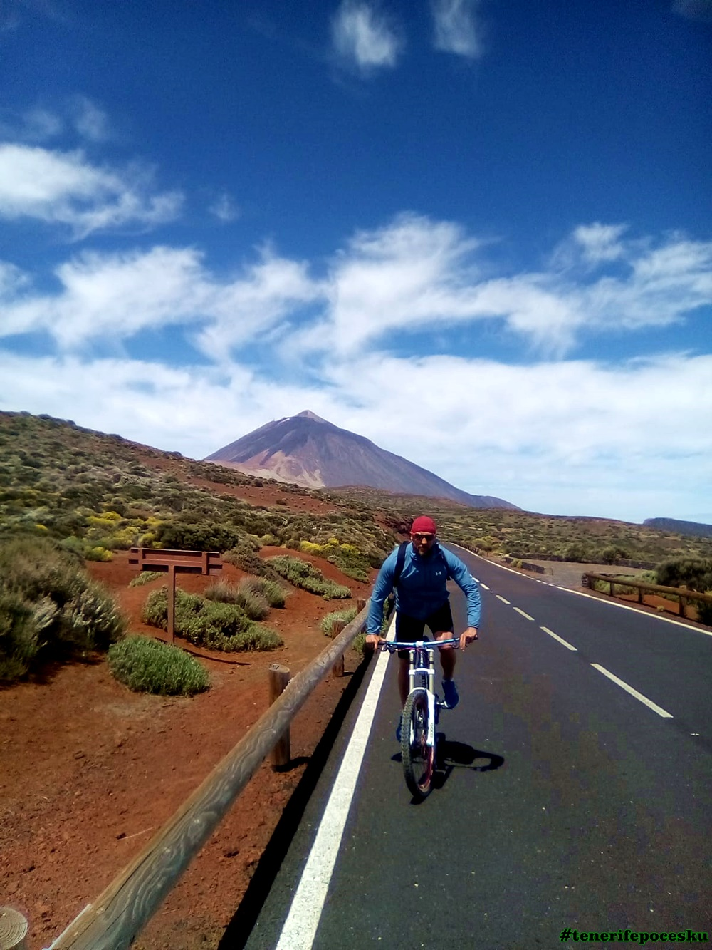 Bike trip Tenerife MTB XC ride
